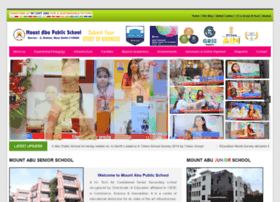 mountabuschool.com