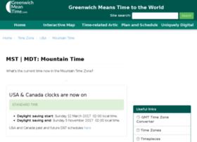 mountain-standard-time.com