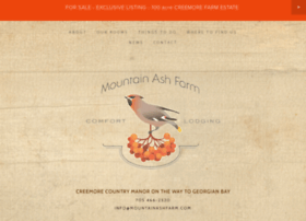 mountainashfarm.com