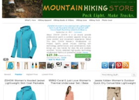 mountainhikingstore.com