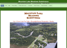 mountainlakemeadows.com