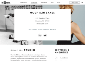 mountainlakes.barmethod.com
