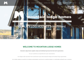 mountainlodgehomes.co.uk