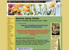 mountainspringherbals.com