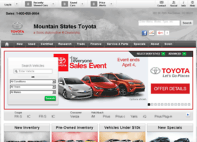 mountainstatestoyota.calls.net