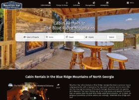 mountaintopcabinrentals.com