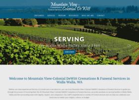 mountainview-colonialdewitt.tributecenteronline.com