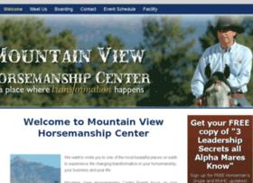 mountainviewhorsemanshipcenter.com