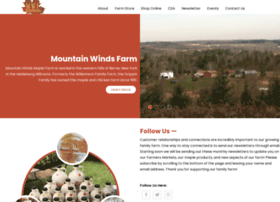 mountainwindsfarm.com