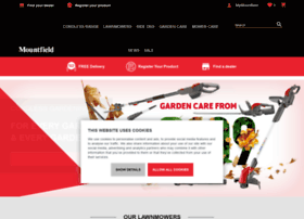 mountfieldlawnmowers.co.uk