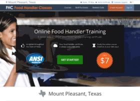 mountpleasanttx.foodhandlerclasses.com