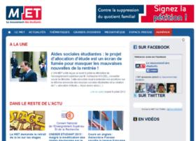 mouvementdesetudiants.fr