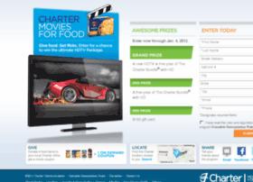 moviesforfood.charter.com