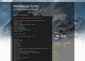moviesongs-lyrics.blogspot.in