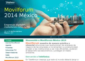 movilforum2014mexico.telefonica.com