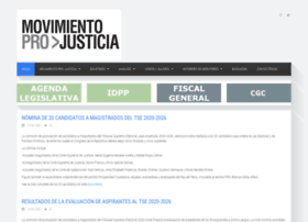 movimientoprojusticia.org.gt
