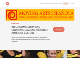 movingartsespanola.org