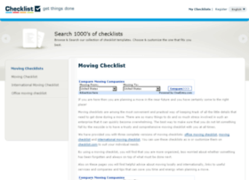 movingchecklists.com