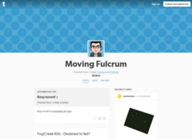 movingfulcrum.tumblr.com