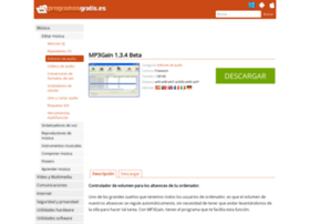 mp3gain.programasgratis.es