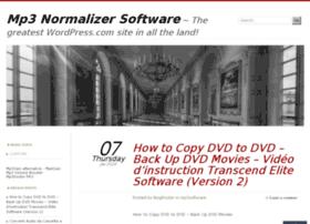 mp3normalizersoftware.wordpress.com