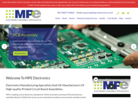 mpe-electronics.co.uk