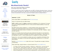 mpgravity.sourceforge.net