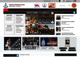 Mppolicegovin Info Madhya Pradesh Police