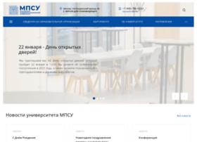 mpsu.ru