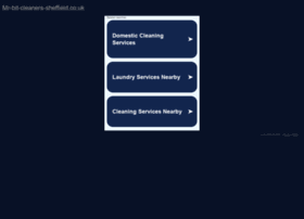 mr-bit-cleaners-sheffield.co.uk