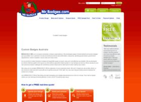 mrbadges.com