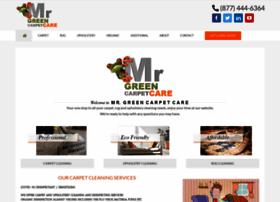 mrgreencarpetcare.com