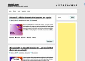 mrlacey.co.uk