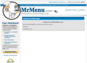 mrmenu.com