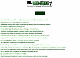 mroneliner.com