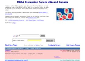 mrsa-forum-usa.com