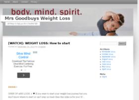 mrsgoodbuysweightloss.com