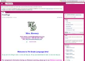 mrsrooney.pbworks.com