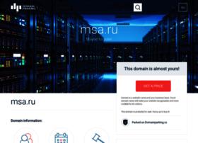 msa.ru