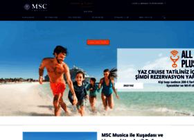 msccruises.com.tr
