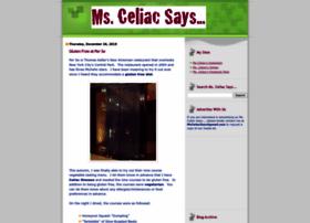 msceliacsays.com