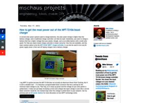 mschausprojects.blogspot.com