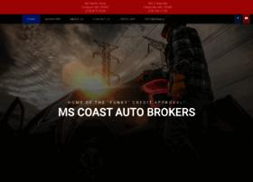 mscoastautobroker.com