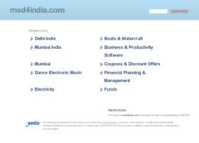 msd4india.com
