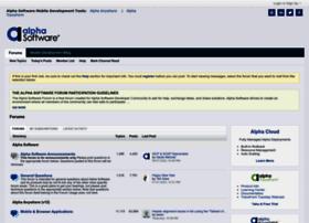 msgboard.alphasoftware.com
