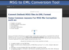 msgtoemlconversion.rollr.com