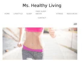 mshealthyliving.com