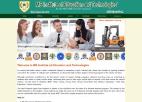 msinstituteofeducation.com