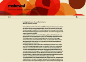mskewai.wordpress.com