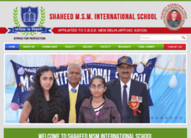 msminternationalschool.com